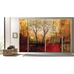 Δέντρα Wardrobe Design Bedroom, Painting, Art, Art Background, Painting Art, Kunst, Paintings, Performing Arts, Painted Canvas