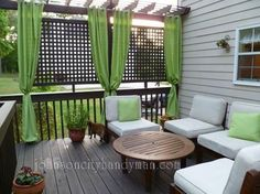 Summer time, time for families, BBQ's and outdoor parties. But, does your deck leave a little to be desired? We have just the deck ideas for you to help spruce it up!