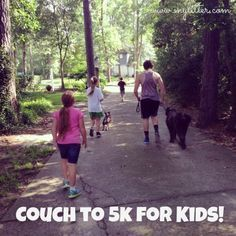 Couch to Running Program With Kids running ideas runners, color running ideas, running ideas signs Running Plan, Kids Running, Trail Running, 5k Training Plan, Race Training, Physical Fitness Program, Couch To 5k, Kids Couch, American Heritage Girls