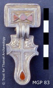 Frankish influence - late 6th century Kent