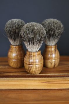 off for two days! Sustainable Teak Shaving Brush by Old Factory Soap Company on Opensky Shaving Brush, Shaving Soap, Essential Oil For Cuts, Home Microdermabrasion, Natural Beard Oil, Soap Shop, Old Factory, Soap Company, Freundlich