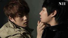 Jaejoong and Yoochun. :D JYJ.