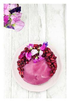 Wild strawberries cheesecake