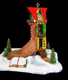 Photos: The 2011 National Gingerbread House Competition at The Grove Park Inn Resort and Spa - Asheville - North Carolina
