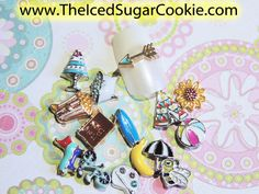 Nail Charms Collection Beach ball, Surfboard, Bubble Bath, Pinata, Birthday Cake, Banana, popcorn, Bumble Bee, Holy Bible, Paint Palette, Bicycle, Teepee Tent, Arrow, Sunflower, Umbrella, The Iced Sugar Cookie For Nails Nail Charms, Teepee Tent, Beach Ball, Bubble Bath, Pick One, Fun Nails, Popcorn, Surfboard, Arrow