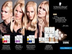 Schwarzkopf HairCare Advertising with Claudia Schiffer Claudia Schiffer, Beauty Ad, Beauty Makeup, Schwarzkopf Hair, World Hair, Only At Walmart, Schwarzkopf Professional, Perfume Ad, Hair Studio