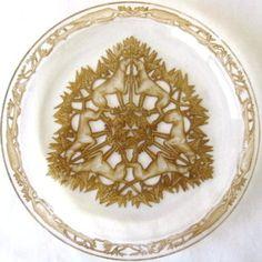 R.Lalique. Chasse Chiens plate c.1914 - D-21cm