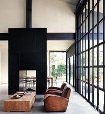 _Architecture / CJWHO ™ (Wilkinson Residence by Robert Harvey...) — Designspiration
