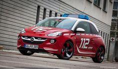 Opel Adam für die Feuerwehr