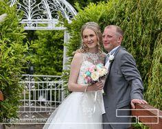 lazaat wedding photography by leading photographer stephen armishaw of beverley hull eastyorkshire bride and groom on bridge www.stephenarmishaw.co.uk
