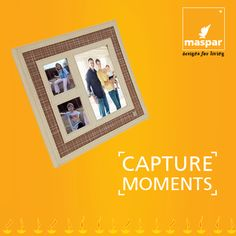We do not remember days we remember moments.    Capture your best memories with Maspar photo frame: http://bit. ly/1M1okdG