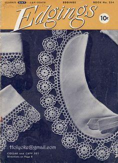 Clarks & Coat's Edgings, Book No. 254 (Thread Crochet)