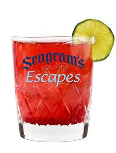 Nice 'n Naughty Christmas Drink Recipe.  Mix up Seagram's Escapes Wild Berries, vodka, cranberry juice, and a splash of lime to make a Nice 'n Naughty - the perfect winter cocktail. #Christmas, #Cocktails, #Drinks