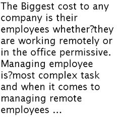 How To Manage Remote Employees?? #Time_tracking_software #Employee_tracker