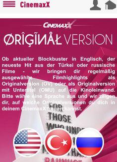 Cinemaxx movies OV Stuttgart