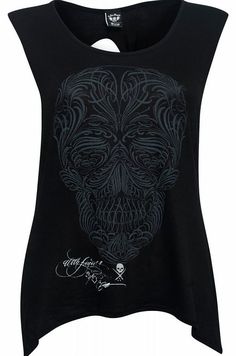 Sullen Clothing Filigree Badge Top The Sullen Filigree Badge Top is an awesome black muscle tank with a creepy ornate skull front print, designed by renowned tattoo artist BJ Betts. With a twisted open back and handkerchief hem, its a  http://www.comparestoreprices.co.uk/fashion-clothing/sullen-clothing-filigree-badge-top.asp