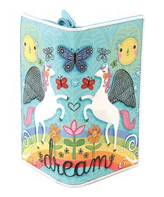 Take a look at this Sleepyville Critters Blue Dreams Of Pegasus Wallet today!