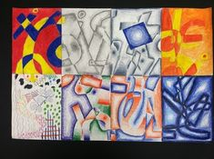 Elements of Art - North Pitt High School Art 3d Art Projects, Art Education Projects, High School Art Projects, Art Education Lessons, Art Lessons, Teaching Colors, Teaching Art, Middle School Art, Art School