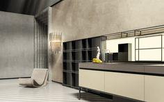 Кухни Кухня SEI 2, Фабрика Euromobil Cucine, SEI2 - Comodo
