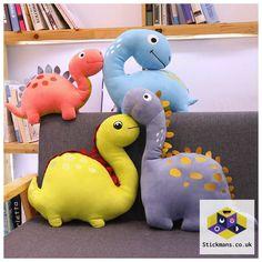Creative Cartoon Dinosaur Plush Toys Stuffed Animals Plush Dinosaur Pillow Tyrannosaurus Dolls Kids Boy Girls G. Cartoon Dinosaur, Cute Dinosaur, Dinosaur Toys, Dinosaur Stuffed Animal, Stuffed Animals, Owl Cartoon, Stuffed Toys, Pet Toys, Doll Toys