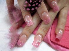 pink valentine by marialenahall - Nail Art Gallery nailartgallery.nailsmag.com by Nails Magazine www.nailsmag.com #nailart