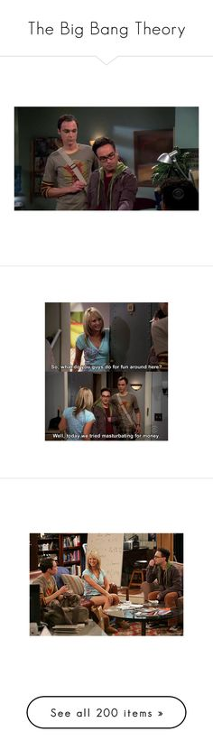 """The Big Bang Theory"" by michiie05 ❤ liked on Polyvore"