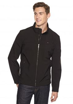 promo code 53644 dc1bb Tommy Hilfiger Breathable Softshell Jacket