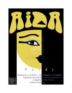Aida Opera Poster by ~Hannahlore on deviantART