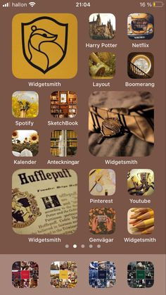 Harry Potter Netflix, Harry Potter App, Harry Potter Tattoos, Harry Potter Background, Iphone Wallpaper Ios, Iphone App Layout, Iphone Design, Harry Potter Aesthetic, Phone Icon