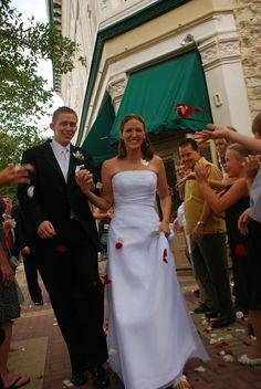 [something creative here]: Petal Toss - Austin, Texas Wedding