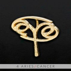 The Aries/Cancer Unity Pendant is a beautiful and meaningful way to share and express the love between an Aries and Cancer. All Gold Unity Pendants are cast in Bronze with a thick Gold Finish and come with a Gold finished necklace.