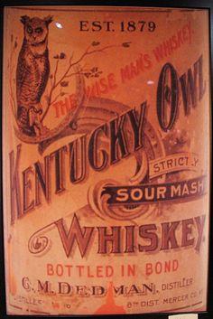 Kentucky Owl Whiskey