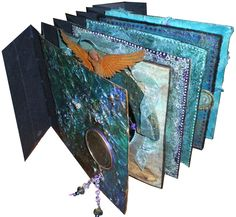 'Circles'  under construction / by Joy Bathie / http://www.pinterest.com/joybathie/books-artists-handcrafted
