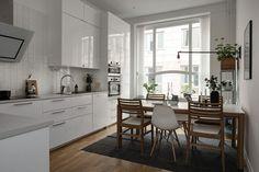 Decoração em estilo nórdico luminárias modernas e cozinha nórdica decoração simples cores neutras modernos de decoração funcional mobiliário de sala de estar móveis blog de design decoração Nordic