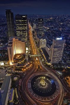 On the top of Jakarta, Indonesia