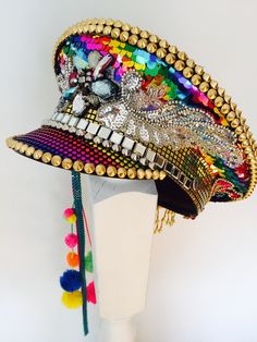 More is More - The Rainbow Warrior Hat                              …