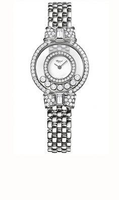Chopard Happy Diamonds Womens Watch 205596-1001 - Happy Diamonds - 24diamonds.com