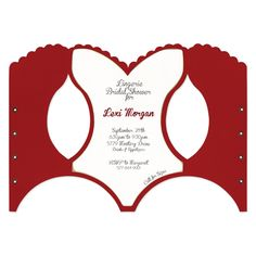 Make fun invitations for bridal showers and bachelorette parties with this unique corset-shaped die. Coordinates with A7 Card-Corset Mats (NC153SJ).