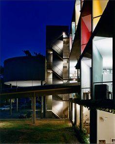 The Carpenter Center at Harvard University | 1961 | Cambridge, Massachusetts | Le Corbusier | photo by Steve Rosenthal
