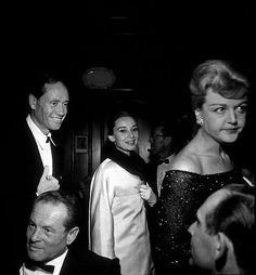 """Suddenly Last Summer"" Premiere & Party Mel Ferrer, Audrey Hepburn, Angela Lansbury Angela Lansbury, Audrey Hepburn Style, Old Movie Stars, Roman Holiday, British Actresses, Ballet Dancers, Old Movies, Suddenly, Classic Hollywood"