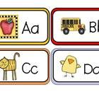 My #1 best selling flash cards!!!  These adorable flash cards are so cute your students are going to love practicing learning the alphabet with the...