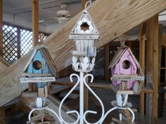 Nautical Driftwood Birdhouse. Drifter On In. by searchnrescue2, $22.00