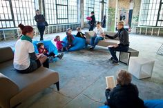 Lodz Design Festival - waiting room