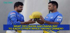 Vivo IPL 2016 : Dhoni And Raina Play Mind Games With Each Other