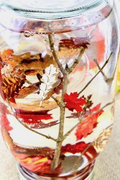 Gorgeous falling leaves snow globe - click Read It for full directions This Fall Snow Globe is such a pretty kids craft or decoration! Learn how to make a falling leaves sensory bottle with step by step video instructions. Easy Fall Crafts, Fall Crafts For Kids, Thanksgiving Crafts, Diy Crafts For Kids, Fun Crafts, Arts And Crafts, Fall Toddler Crafts, Harvest Crafts For Kids, Paper Crafts