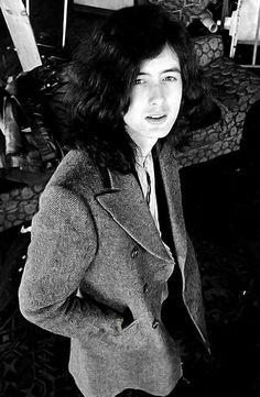 Jimmy Page at Herb Greene Studio in San Francisco, 1969.