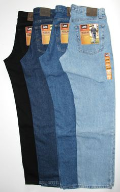 LEE Regular Fit Jeans All Men's Sizes Four Colors Lee Classic Collection