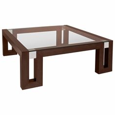 Calligraphy Square Cocktail Table