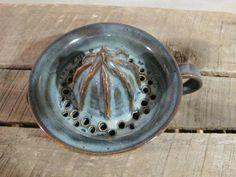 Ceramic Juicer // Handmade Pottery Reamer // by KismetPottery, $45.00