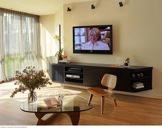 CountyCustom Floating Entertainment Center Cabinet In Laguna Beach | Home |  Pinterest | Entertu2026